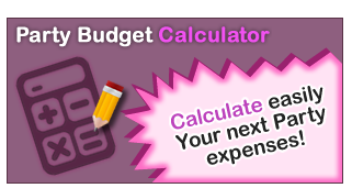the party budget calculator will help you plan an unforgettable