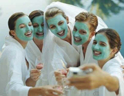 Hen Weekend Spa party theme - thumbnail image