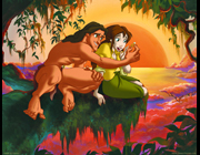 Tarzan and Jane party theme - thumbnail image