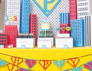 Superheroes party theme - thumbnail image