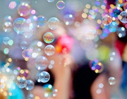 Bubbles party theme - thumbnail image