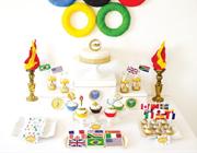 Olympics party theme - thumbnail image
