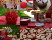 Baseball party theme - thumbnail image