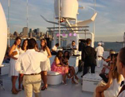 High Society on the Harbor party theme - thumbnail image