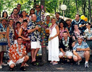 1950s Hawaiian party theme - thumbnail image