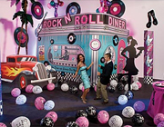 New Year's Eve – 50's Sock Hop Party party theme - thumbnail image